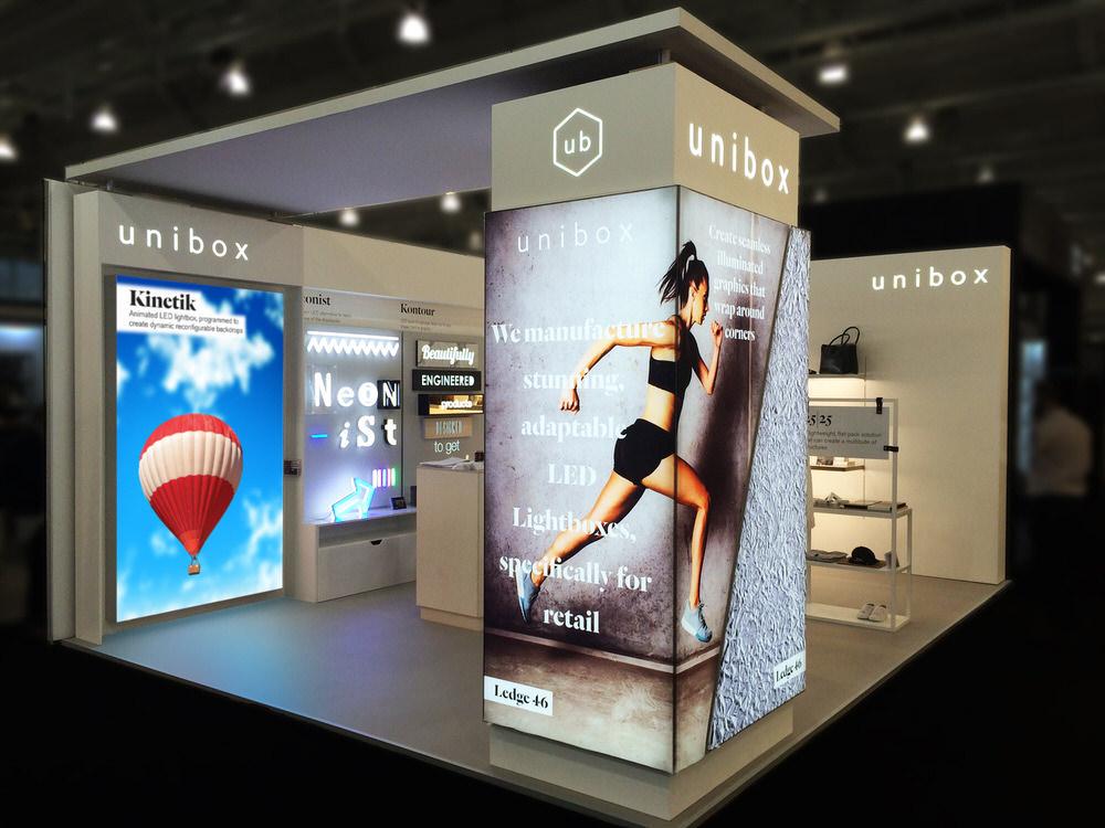 reclame CLICK cu LED pentru interior